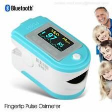 Bluetooth Finger Pulse Oximeterfingertip Spo2pr Oxygen Monitor Oled Usa