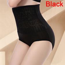 Women Tummy Control Lace High Waist Body Shaping Panties Shapewear Underwear *