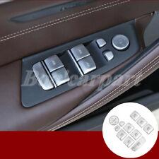 Für BMW 5 Series G30 Autotür Fensterheber Schalter Taste Abdeckung Zierleisten