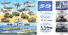 CC61e NATO RAF FDC signed MRAF CRAIG FM INGE AF BATHURST