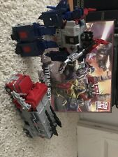 TAKARA TOMY TRANSFORMERS LEGENDS LG-EX GODBOMBER  Magnus Prime From Siege Ginrai