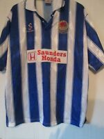 Chester City FC 1998-1999 Home Football Shirt Size XXL /43434