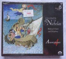 Legends of St. Nicholas: Medieval Chant & Polyphony (CD, Sep-1999, Harmonia...