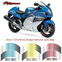 Motorcycle 17inch Wheel Decals Reflective stickers For Suzuki Hayabusa