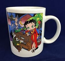 Betty Boop Coffee Mug Vtg 1997 Play It Again Casablanca Cup Bimbo KoKo The Clown