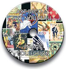 1,600+ ART DECO & ART NOUVEAU VINTAGE IMAGES CD