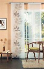 °BLÄTTER° Waschbare Flächenvorhang Schiebegardinen Vorhang Paneel inkl. Technik