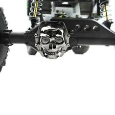 Hot Racing WRA12CT01 Metal Skull AR60 Diff Cover Blk Chrm Wraith / AX10 / Yeti