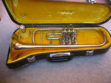 "Nice old German rotary Bb- trumpet ""Christian Reisser Ulm"""