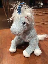 TY Classic Unicorn Galaxy NWT blue unicorn