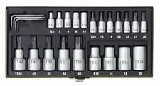 Proxxon Steckschlüsselsatz - TX 1/4´´ und 1/2´´, 23 teilig