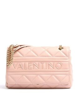 Valentino Bags ADA Pale Pink Quilted Shoulder Bag