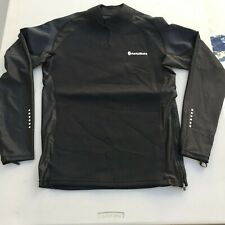 -Sample Product- NonZero Gravity Magma Men's Black Sauna Shirt (Small)