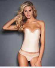 NEW Frederick's Fredericks of Hollywood Smoothing Strapless Corset Nude 42DD $79