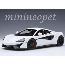 AUTOart 76041 MCLAREN 570S 1/18 MODEL CAR WHITE with BLACK WHEELS