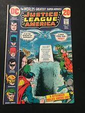 DC COMICS JUSTICE LEAGUE OF AMERICA #103 1972 VF
