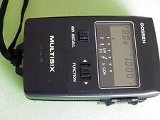 Gossen Multisix Digital Ambient/Flash Exposure Meter with case in EC