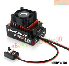 HOBBYWING QUICRUN 10BL120 120A Sensored Brushless ESC Speed Controller for Car