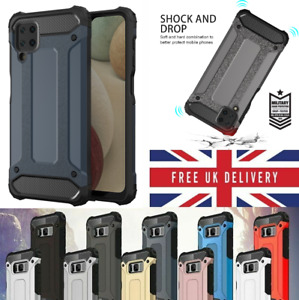 Phone Case For Samsung S21 A12 A32 A52 Shockproof Tough Armor Heavy Duty Cover