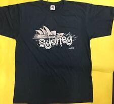Australian Souvenir Shirt 100%  Cotton SYDNEY Adult L Size Oz Stock