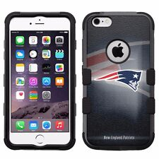 "New England Patriots Impact Hard+Rubber Hybrid Case for iPhone 6/6S Plus (5.5"")"