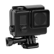 Nero Alloggiamento SUBACQUEO Custodia Impermeabile Immersione 30m adatta per GoPro Hero 3 3 + 4