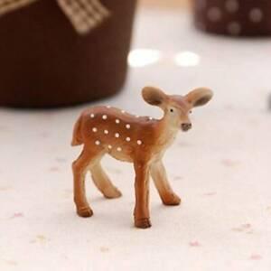 Reindeer Crafts Simulation Home Party Decoration Cute 1pc Decor Deer Figure 8C