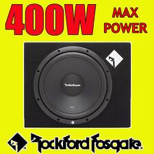 """Rockford Fosgate 12"""" Inch 400w Car Audio Subwoofer Driver Sub Woofer + Bass Box"""