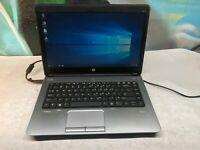HP ProBook 640 G1 Laptop / i5-4300m 2.6GHZ / 4GB DDR3 / SSD / Windows 10 A GRADE