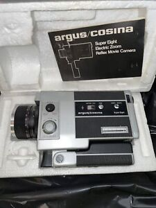 Argus/Cosina Model 708 super 8mm FILM CAMERA MANUAL, untested