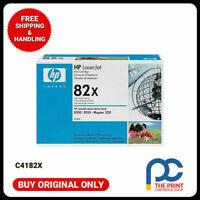New & Original HP C4182X #82X BLACK Toner Cartridge for HP LaserJet 8100/8100n