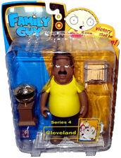 "Family Guy Cleveland Brown Series 4 Action Figure 6"" Scale MIB Mezco RARE Toy"