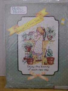 Holly Hobbie Counted Cross Stitch Kit #55207 Enjoy the Beauty of Each New Day