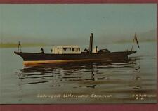Salvaged Ullswater Steamer. G. N. Pattinson  postcard   qb. 451