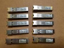 Brocade 57-1000042-01 XBR-000190 E1MG-TX 1GE SFP copper LOT of 10