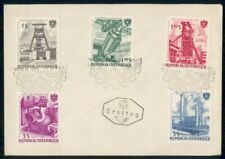 Mayfairstamps Austria 1961 Indusustry Set First Day Cover wwe1307