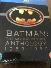 Batman: The Motion Picture Anthology 1989-1997 (Blu-ray Region Free) NEW