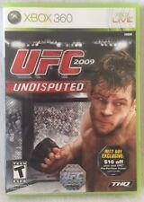UFC 2009 Undisputed Microsoft Xbox 360 Video Game