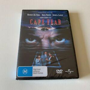 Cape Fear DVD Brand New Region 4 Aust. - Robert de Niro, Nick Nolte