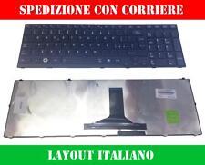 TASTIERA ITALIANA PER NOTEBOOK TOSHIBA ANSK-TQ0GC 9Z.N4YGC.00E PK130CX2C14 MP-0