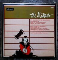 The Mikado by Gilbert and Sullivan Vinyl LP Album. Rare. 1964. Allegro.