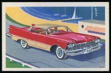Chrysler Imperial USA Automobile car original old 1950s Tobler postcard