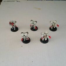 warhammer 40k Space Marine White Scars Assault Squad Lot 1