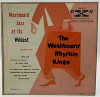 "The Washboard Rhythm Kings 10"" Record Volume 1 RCA X Vault Jazz Vintage 33 10"
