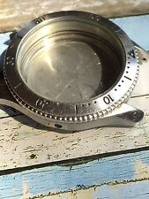 Vintage Bulova All Steel Divers Watch Case 38mm
