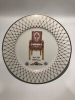 """Lenox French Chairs Collection 10 3/8"""" Plate - Empire Style"""