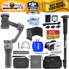 DJI Osmo Mobile 3 Smartphone Gimbal Combo + 32GB + LED Light Kit + Case Bundle
