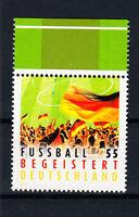 BRD Briefmarken 2012 Fußball begeistert Mi.Nr.2930 ** postfrisch Rand