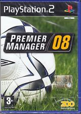 Ps2 PlayStation 2 **PREMIER MANAGER 08** nuovo sigillato italiano pal