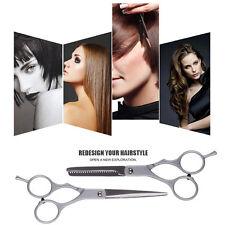 Kit 2x Coupe Ciseaux Cheveux Desepaissir Salon Coiffeur Coiffure Acier Sculpteur